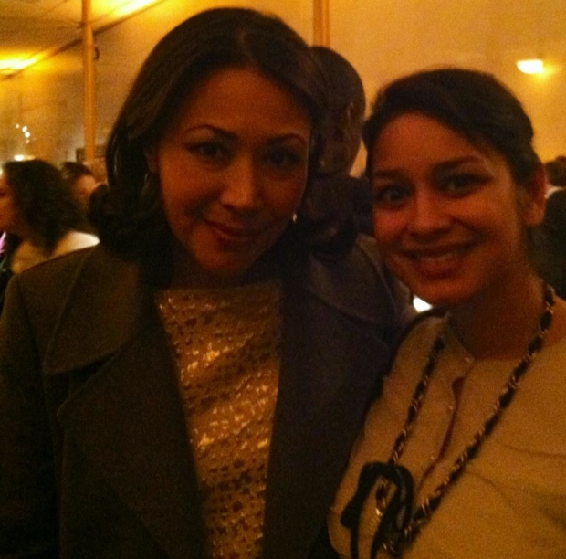 Ann Curry & I at the Kennedy Center Honors Vital Voices Awards in Washington.