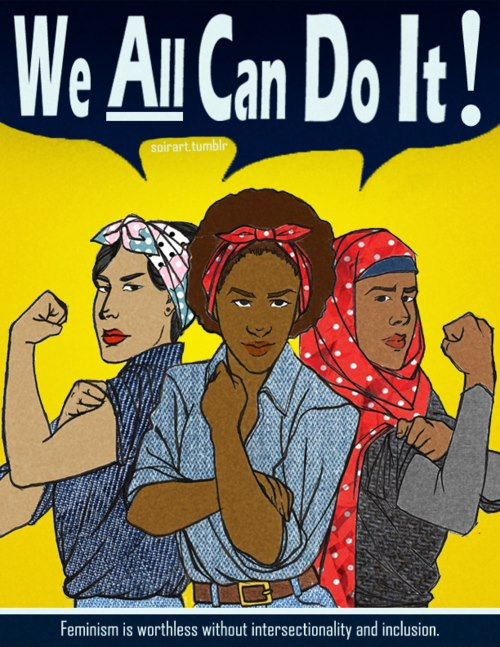 The Struggle for Women's Rights Around the World Continues. We All Have a Role to Play. Image Credit: Flickr