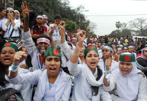 No End in Site: Ordinary Bangladeshis Unite for Secularism. Image Credit: Flickr