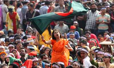 Rising Up: Why Has the International Media Been Largely Silent on Shahbagh? Image Credit: Flickr