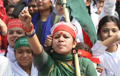 Shahbagh Protests Are Being Organized by Women & the Youth of Bangladesh. Image Credit: Flickr