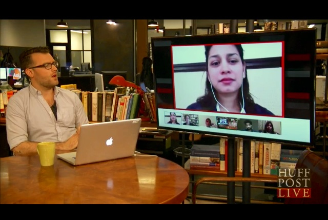 Discussing the Savar Tragedy on HuffPost Live on Thursday.