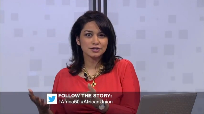 Discussing the African Union on its 50th Birthday on Al-Jazeera English.