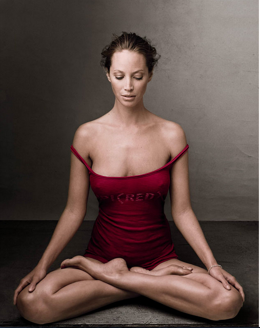 Once An Avid Smoker, Who Quit & Became An American Cancer Society Spokeswoman, Turlington Burns Is Also A Devout Yogi. Image Credit: Flickr