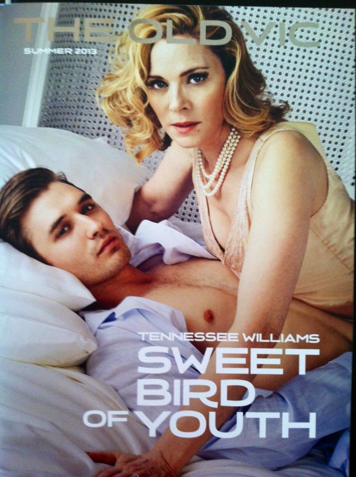 "The Old Vic Theater in London commissioned me to analyze the Tennessee Williams play, ""Sweet Bird of Youth."" If you're in London, try to catch the show starring Kim Cattrall."