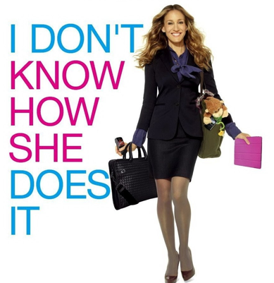 Sarah Jessica Parker star in a movie all about women's amazing ability to multi-task. Image Credit: Flickr.