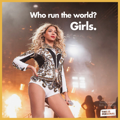 An already awesome year for women's rights was capped off by Beyonce's bold feminist declaration. Image Credit: Flickr.