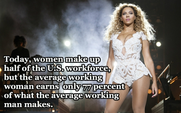 Beyonce is the hottest feminist on the block, so why is she condoning violence against women? Image Credit: Flickr.