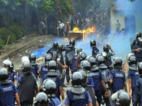 Bangladeshis spent the past year watching political violence in the country spiral out of control. Image Credit: Flickr.