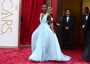 Lupita Nyong'o arrives at the Oscars on Sunday. Why is her win a win for women of color? Image Credit: Flickr.