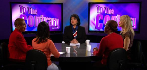On PBS' To The Contrary With Congresswoman Eleanor Holmes Norton.