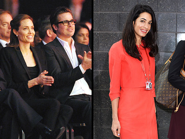 Angelina & Amal join forces to make the world a better place- literally. Image Credit: People.