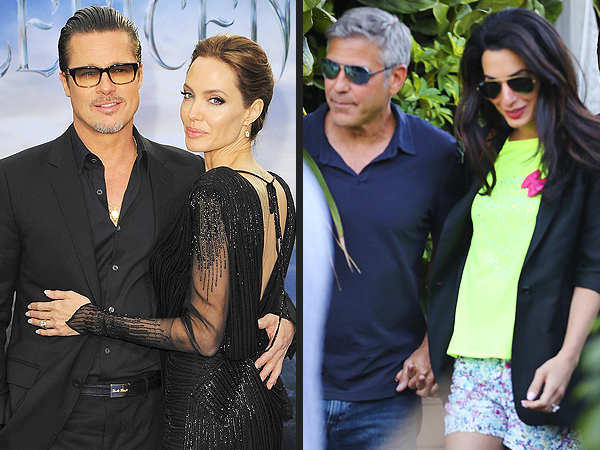 Even Brad Pitt & George Clooney cannot overshadow the brilliance of Amal & Angelina.