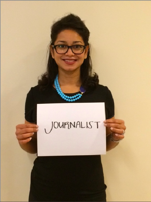My favorite position? Being a freelance journalist.