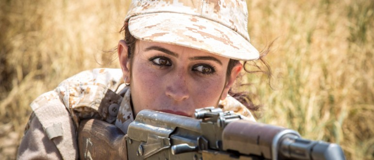 Kurdish women have been fighting on the front-lines for their autonomy since 1996. Image Credit: Flickr.