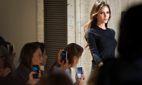 The look of success: Victoria Beckham has proved she is a serious business woman. Image Credit: Guardian.