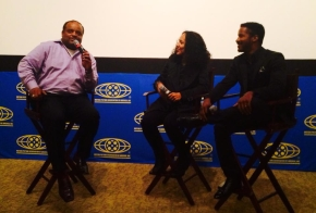 After the film's advanced screening, Gina Prince-Byethwood and Nate Robertson did a Q&A session moderated by CNN Anchor, Rolan Martin.