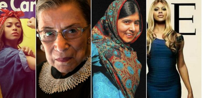 From Malala to Ginsberg to Beyonce it's safe to say women owned 2014. Image Credit: Flickr.