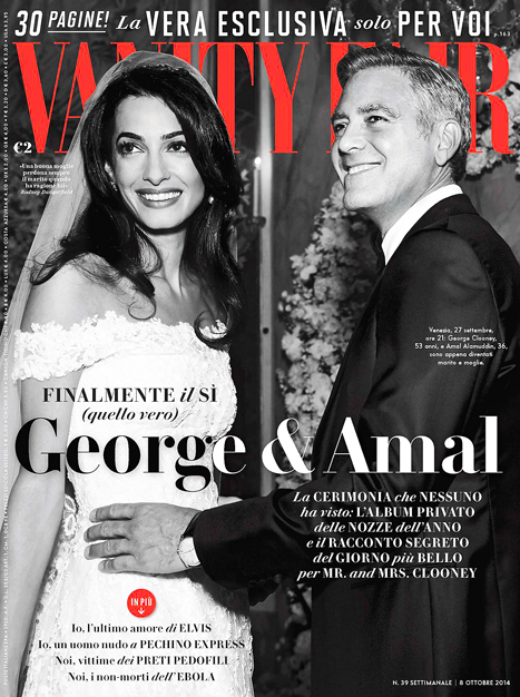 The most impressive accomplishment of Amal Clooney is not her marriage, but her work. Image Credit: Vanity Fair.