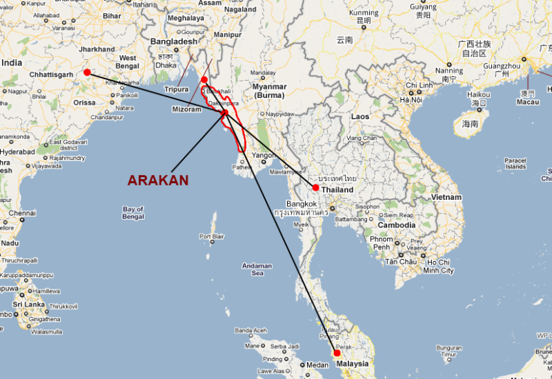 map-rohingya-boat-route